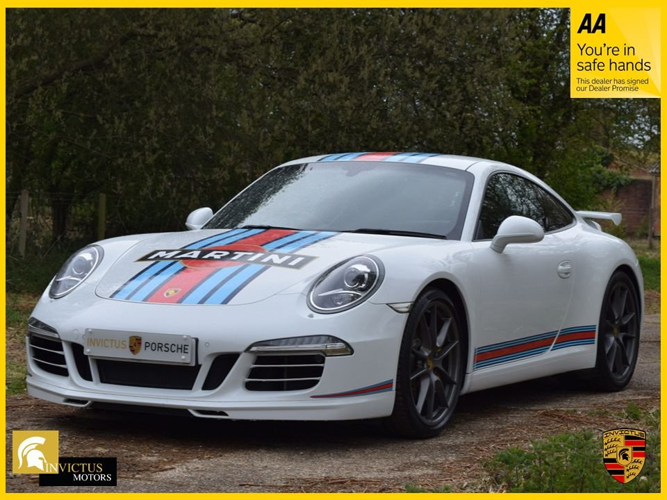 USED 2015 15 PORSCHE 911 3.8 CARRERA S PDK 2d 400 BHP