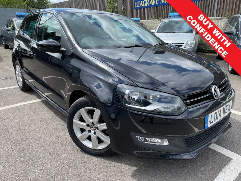 USED 2014 14 VOLKSWAGEN POLO 1.2 MATCH EDITION 5d 59 BHP ONE PREVIOUS OWNER