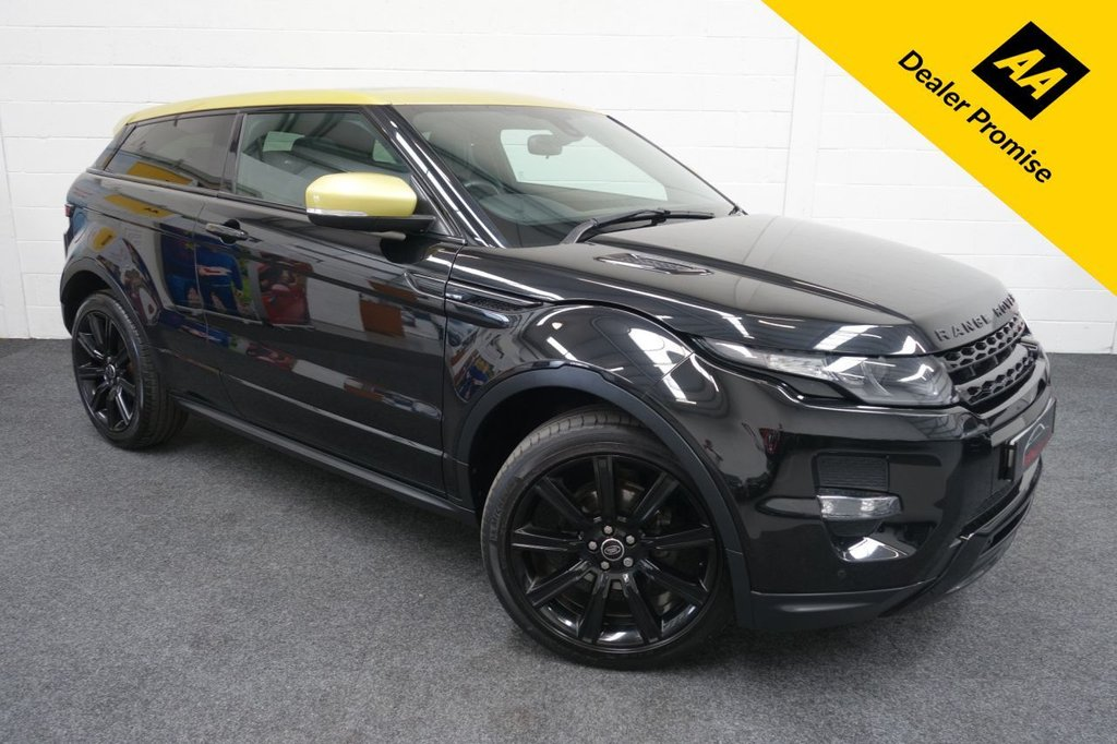 USED 2014 63 LAND ROVER RANGE ROVER EVOQUE 2.2 SD4 SPECIAL EDITION 3d 190 BHP