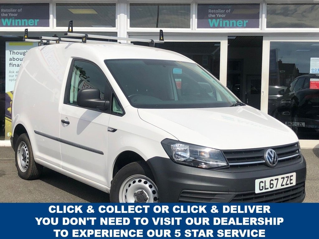 USED 2017 67 VOLKSWAGEN CADDY 2.0 C20 TDI STARTLINE Panel Van Spec Including Bluetooth CD player AUX connectivity USB port Electric front windows, Touch Screen Display Heated Wing Mirrors Radio Stop/Start 2 Seat Configuration Partial Ply lining Central locking Roof rails 1 x side loading door Temperature Settings Mesh bulk head Now Ready to Finance and Drive Away The ideal Works Caddy!