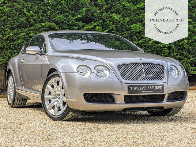 USED 2005 05 BENTLEY CONTINENTAL 6.0 GT 2d 550 BHP
