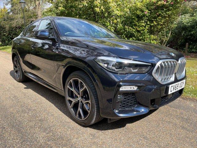 USED 2020 69 BMW X6 3.0 XDRIVE30D M SPORT 4d 261 BHP