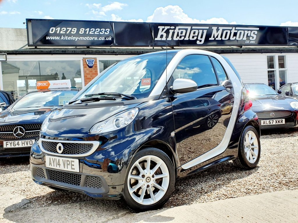 USED 2014 14 SMART FORTWO 1.0 PASSION MHD 2d 71 BHP PANORAMIC SUNROOF