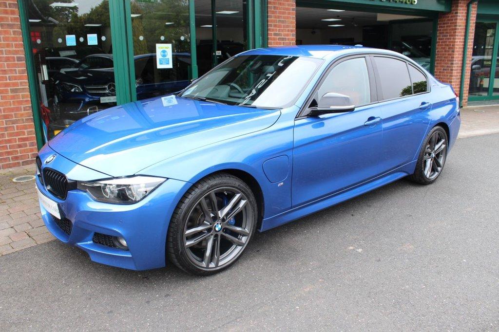 USED 2018 18 BMW 3 SERIES 2.0 330E M SPORT SHADOW EDITION 4d 249 BHP
