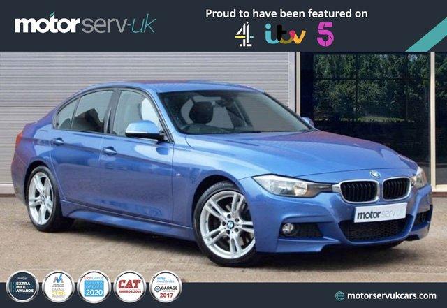 USED 2014 64 BMW 3 SERIES 2.0 325D M SPORT 4d 215 BHP