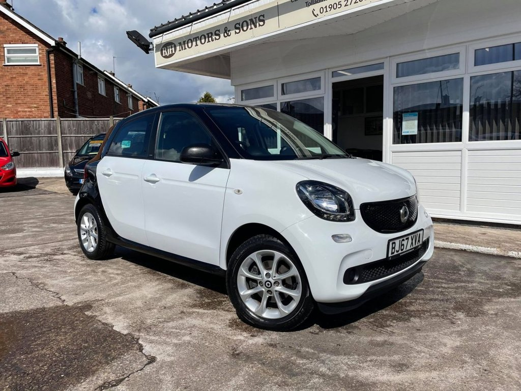 USED 2017 67 SMART FORFOUR 0.9 PASSION T 5d 90 BHP