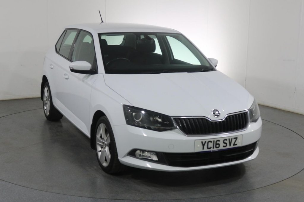 USED 2016 16 SKODA FABIA 1.4 SE L TDI 5d 104 BHP Demo and ONE OWNER with FULL 6 Stamp SERVICE HISTORY
