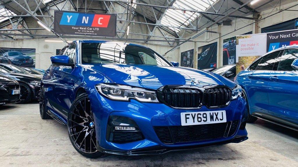 USED 2019 69 BMW 3 SERIES 2.0 320i M Sport Auto (s/s) 4dr PERFORMANCEKIT+20S+G20!!