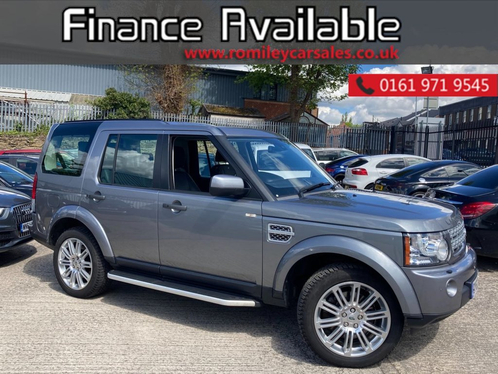 USED 2012 62 LAND ROVER DISCOVERY 3.0 4 SDV6 HSE 5d 255 BHP FULL SERVICE RECORD - FULL HEATED LEATHER - SUN ROOF'S - SAT NAV - BLUETOOTH - PARKING SENSORS