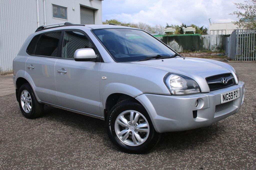 USED 2010 59 HYUNDAI TUCSON 2.0 STYLE CRDI 5d 148 BHP 4 WHEEL DRIVE