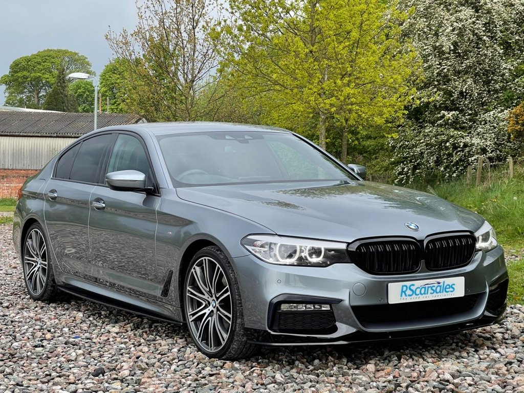 USED 2018 BMW 5 SERIES 3.0 530D XDRIVE M SPORT 4d 261 BHP Free Next  Day Nationwide  Delivery