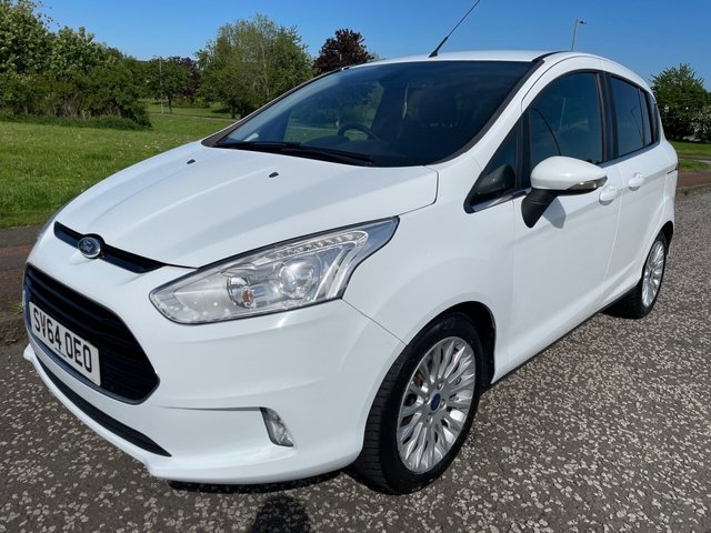 USED 2014 64 FORD B-MAX 1.0 TITANIUM 5d 118 BHP 2 Owners - £30 Tax - F/S/H - Top Of The Range Model