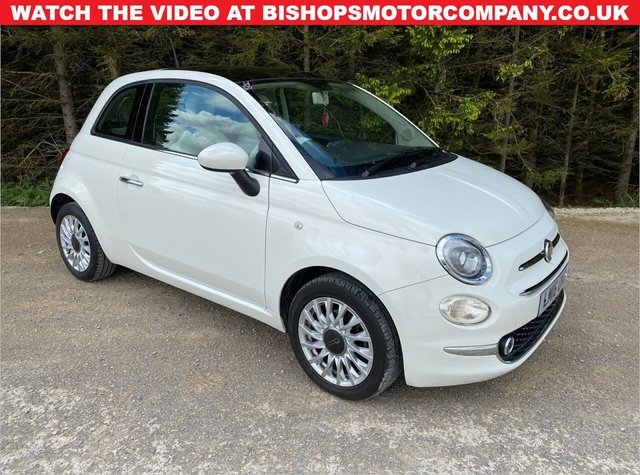 USED 2016 16 FIAT 500 1.2 LOUNGE 3d 69 BHP LOW MILEAGE -- LOW INS GROUP