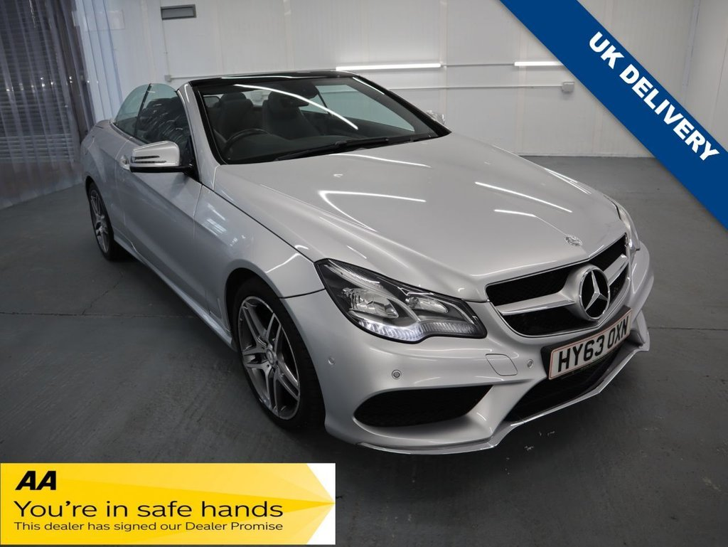 USED 2013 63 MERCEDES-BENZ E-CLASS 2.1 E250 CDI AMG SPORT 2d 204 BHP FINISHED IN METALIC PAINT FINISH AND WITH ADDED AIRSCARF NECK LEVEL HEATING SYSTEM THIS IS MORE THAN YOUR AVERAGE AMG E CLASS.;