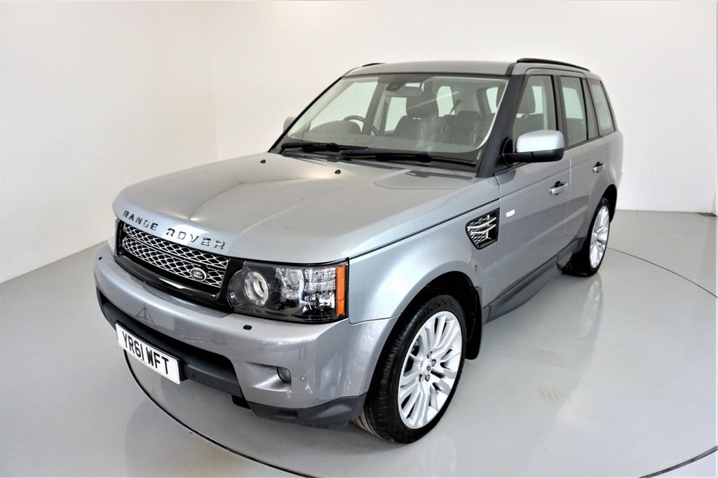 USED 2011 61 LAND ROVER RANGE ROVER SPORT 3.0 SDV6 HSE 5d AUTO 255 BHP-2 OWNER CAR-SUNROOF-FANTASTIC LOW MILEAGE EXAMPLE-CRUISE CONTROL-SATNAV-HEATED BLACK LEATHER-20