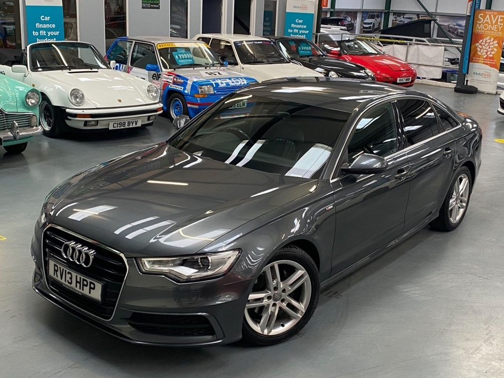 USED 2013 13 AUDI A6 2.0 TDI S line 4dr Low Mileage  Cared For Example