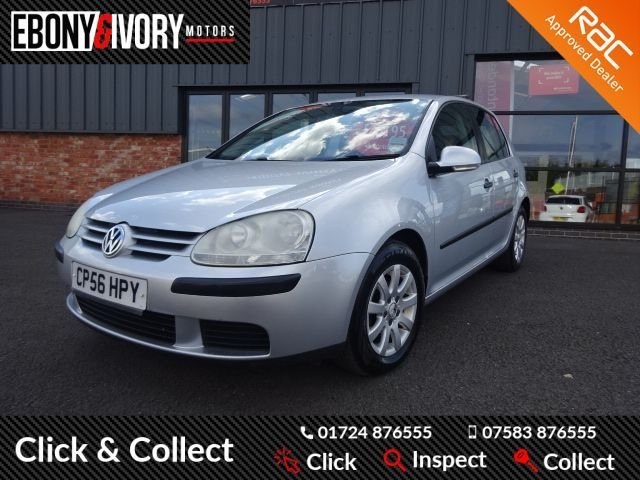 USED 2006 56 VOLKSWAGEN GOLF 1.6 SE 5d 114 BHP + FULL SERVICE HISTORY + 1 YEAR MOT AND BREAKDOWN COVER