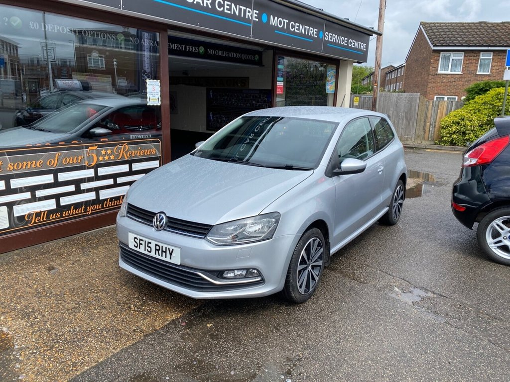 USED 2015 15 VOLKSWAGEN POLO 1.2 SE TSI 3d 89 BHP BLUETOOTH - USB - DAB - AUX - AIRCON - TOUCH SCREEN - HEATED FRONT SEATS