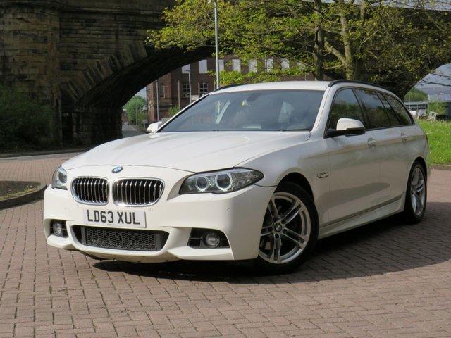 USED 2013 63 BMW 5 SERIES 2.0 518D M SPORT TOURING 5d 141 BHP