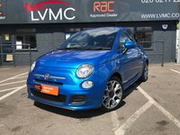 USED 2014 FIAT 500 0.9 TwinAir 105 S 3dr 1 FORMER KEEPER, GREAT HISTORY