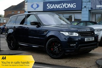 2016 LAND ROVER RANGE ROVER SPORT 3.0 SDV6 AUTOBIOGRAPHY DYNAMIC 5d 306 BHP £29950.00