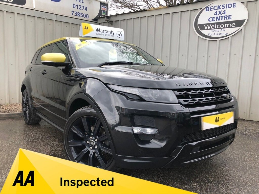 USED 2013 13 LAND ROVER RANGE ROVER EVOQUE 2.2 SD4 SPECIAL EDITION 5d 190 BHP AA INSPECTED. FINANCE. WARRANTY. HIGH SPEC. LOW MILEAGE. MANY EXTRAS