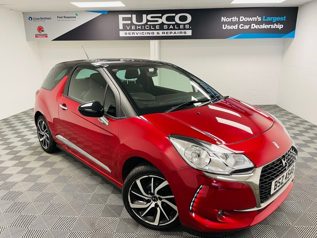 USED 2017 DS DS 3 1.2 PURETECH CONNECTED CHIC 3d 80 BHP NATIONWIDE DELIVERY AVAILABLE!