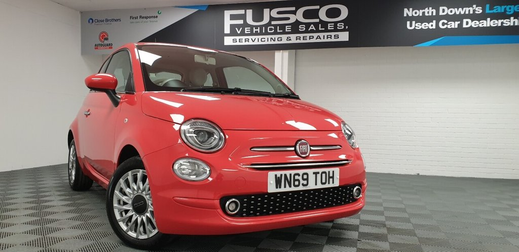 USED 2019 69 FIAT 500 1.2 LOUNGE 3d 69 BHP NATIONWIDE DELIVERY AVAILABLE!