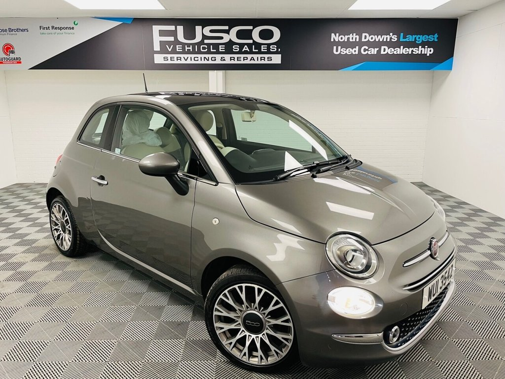 USED 2017 FIAT 500 1.2 LOUNGE 3d 69 BHP NATIONWIDE DELIVERY AVAILABLE!