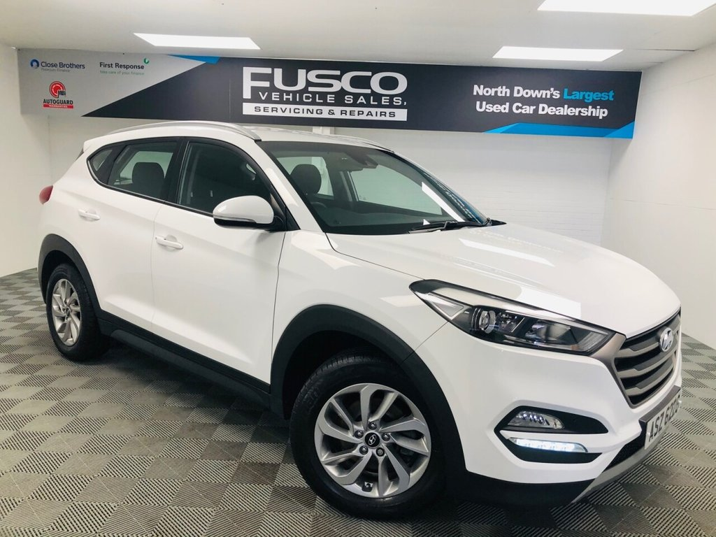 USED 2017 HYUNDAI TUCSON 1.7 CRDI SE NAV BLUE DRIVE 5d 139 BHP NATIONWIDE DELIVERY AVAILABLE!