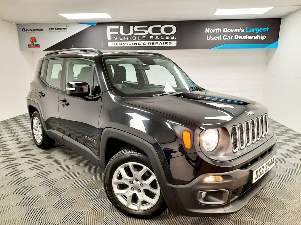 USED 2016 JEEP RENEGADE 1.6 M-JET LONGITUDE 5d 118 BHP NATIONWIDE DELIVERY AVAILABLE!