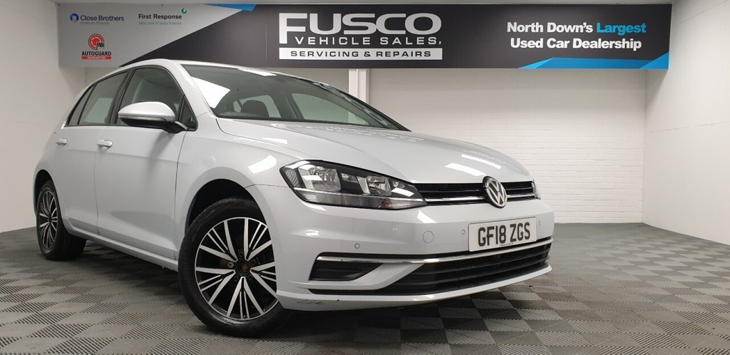 USED 2018 18 VOLKSWAGEN GOLF 1.4 SE NAVIGATION TSI BLUEMOTION TECHNOLOGY DSG 5d 124 BHP NATIONWIDE DELIVERY AVAILABLE!