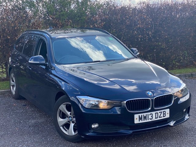 USED 2013 13 BMW 3 SERIES 2.0 320D EFFICIENTDYNAMICS TOURING 5d SERVICE HISTORY, MOT UNTIL MAY 2022, SATELLITE NAVIGATION, BLUETOOTH, CRUISE CONTROL