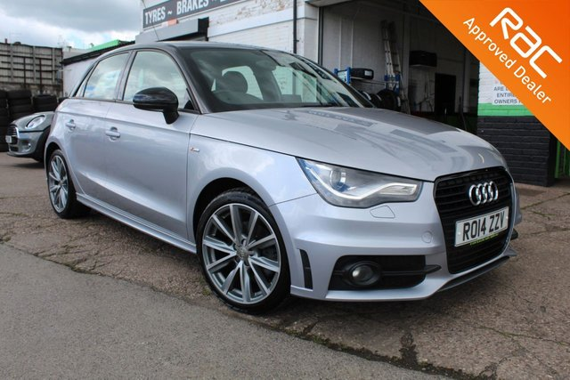 USED 2014 14 AUDI A1 1.6 SPORTBACK TDI S LINE STYLE EDITION 5d 103 BHP VIEW AND RESERVE ONLINE OR CALL 01527-853940 FOR MORE INFO.