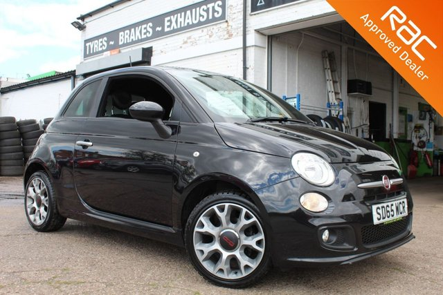 USED 2015 65 FIAT 500 1.2 S 3d 69 BHP VIEW AND RESERVE ONLINE OR CALL 01527-853940 FOR MORE INFO.