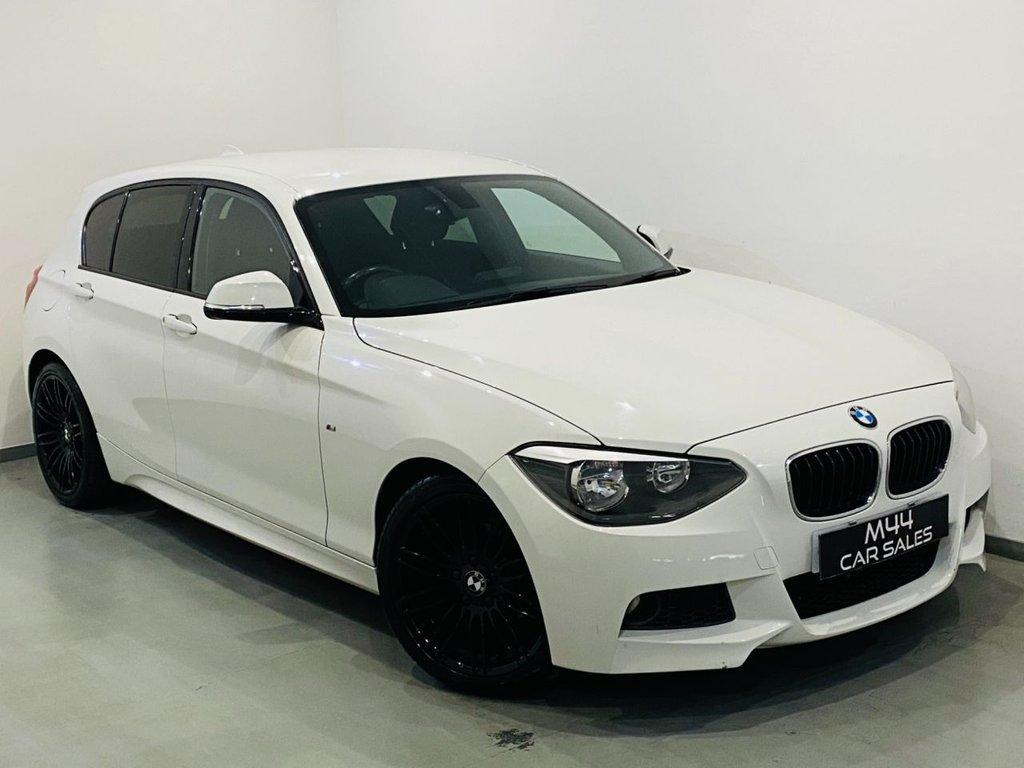 USED 2014 14 BMW 1 SERIES 2.0 116D M SPORT 5d 114 BHP Bluetooth / £30 Road tax / Isofix / Cruise Control / Parking Sensors