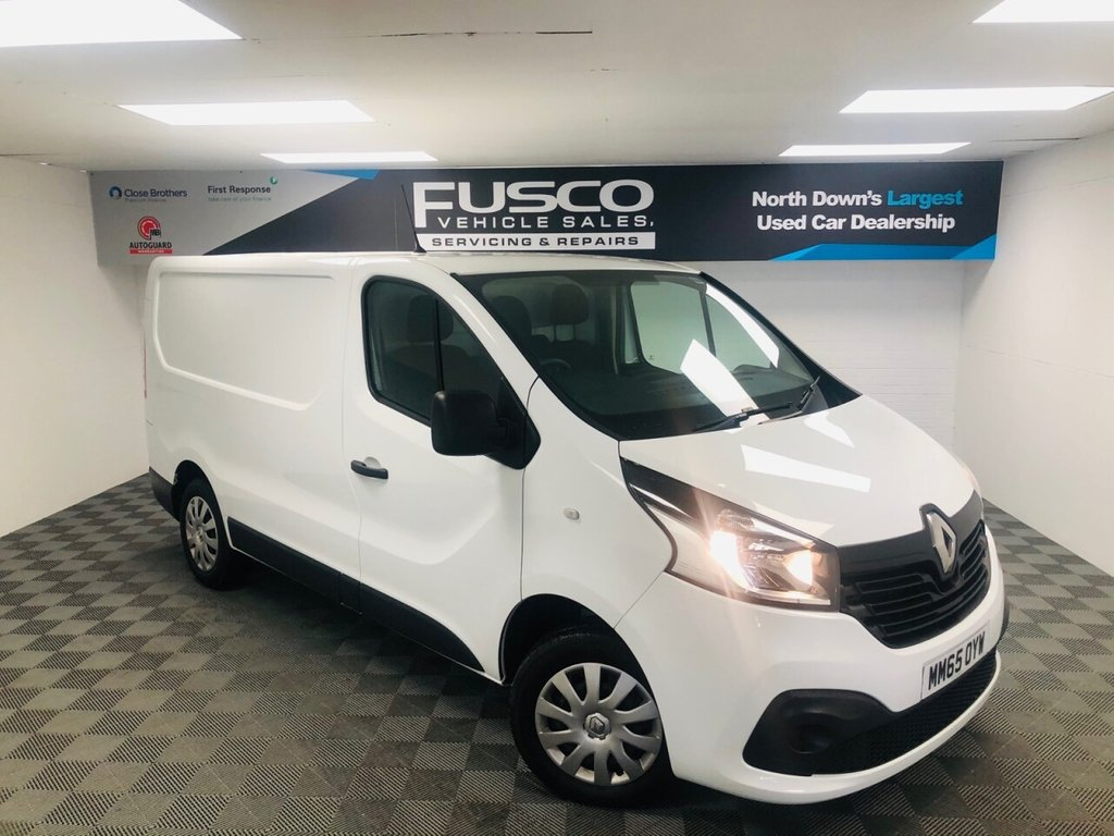 USED 2015 65 RENAULT TRAFIC 1.6 SL27 BUSINESS PLUS DCI S/R P/V 115 BHP VAT INCLUDED IN PRICE!