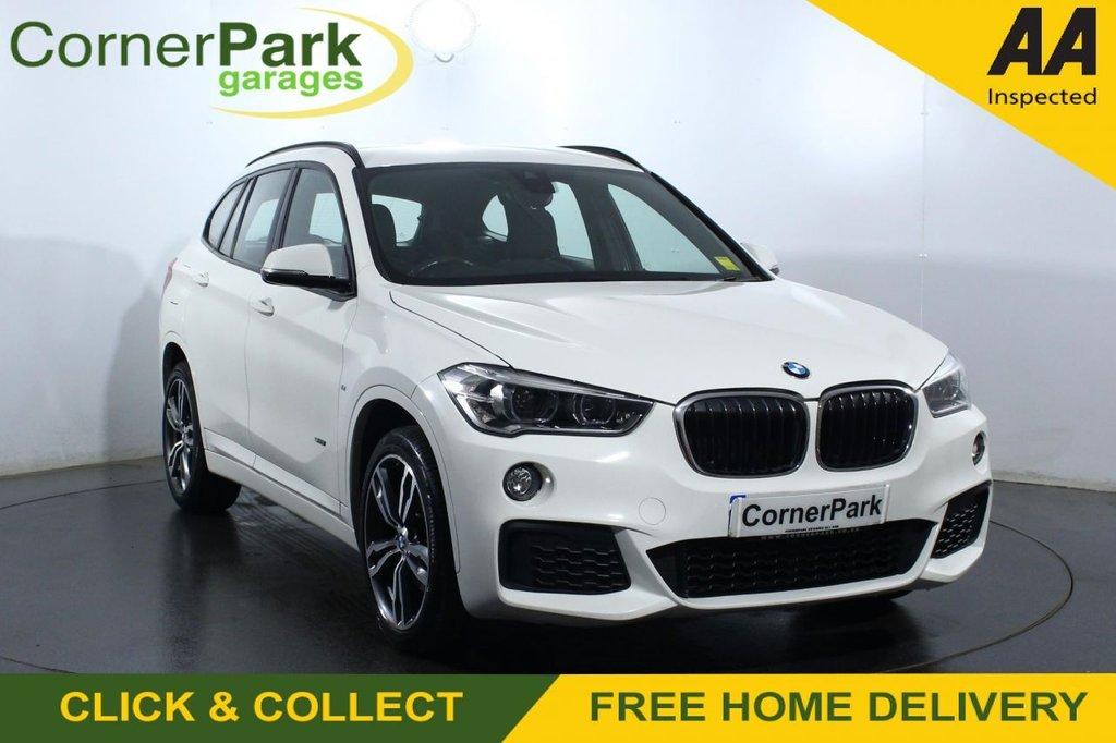 USED 2017 17 BMW X1 2.0 SDRIVE18D M SPORT 5d 148 BHP