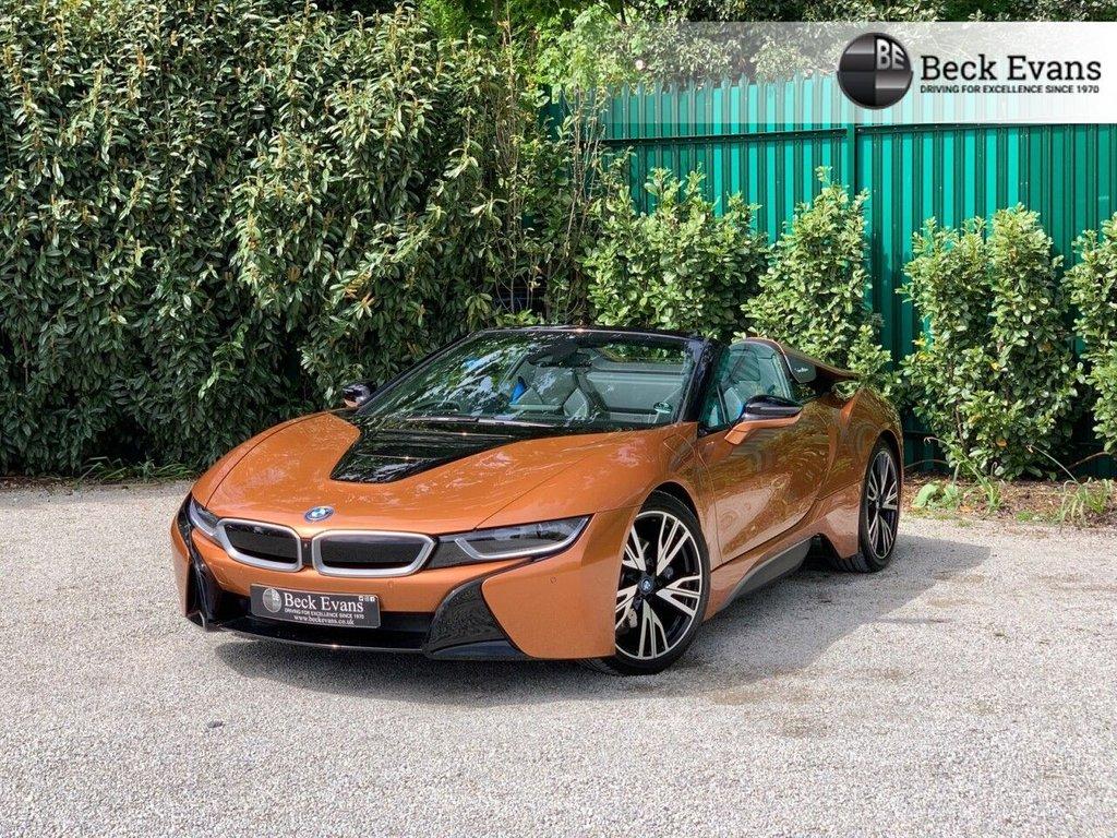 USED 2020 70 BMW I8 1.5 I8 ROADSTER 2d 369 BHP