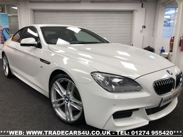 USED 2014 63 BMW 6 SERIES 3.0 640D M SPORT 2d 313 BHP FREE UK DELIVERY*VIDEO AVAILABLE* FINANCE ARRANGED* PART EX*HPI CLEAR