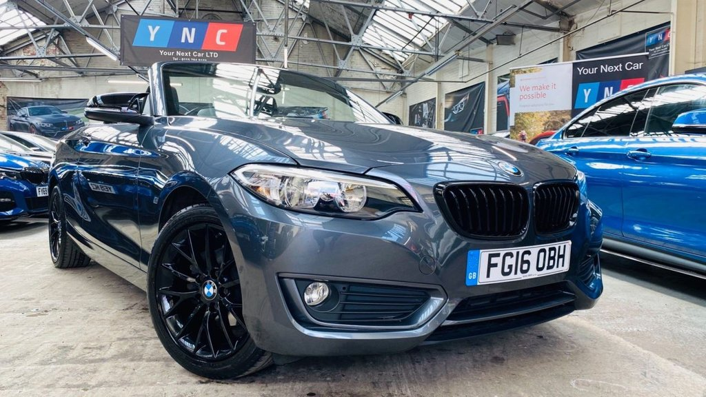 USED 2016 16 BMW 2 SERIES 2.0 218d SE (s/s) 2dr YNCSTYLING+17S+HTDSEATS