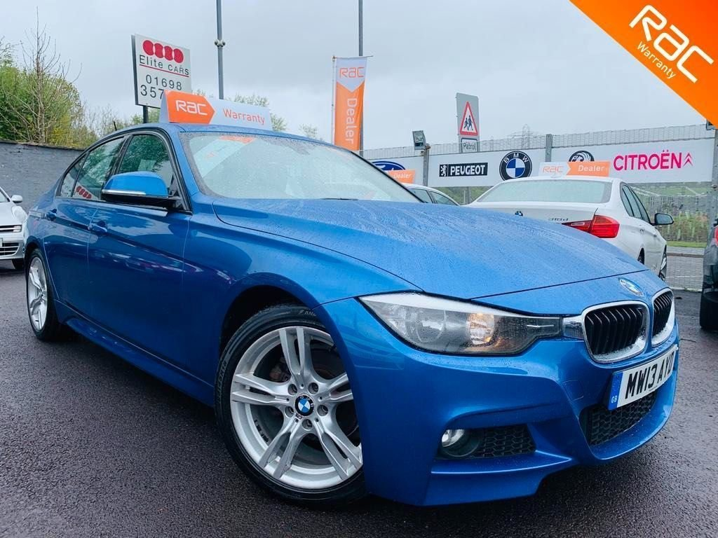 USED 2013 13 BMW 3 SERIES 2.0 318d M Sport (s/s) 4dr 12 months Nationwide warranty