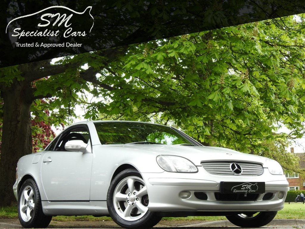 USED 2002 A MERCEDES-BENZ SLK 3.2 SLK320 2d 218 BHP ONLY 45K FROM NEW A/C VGC