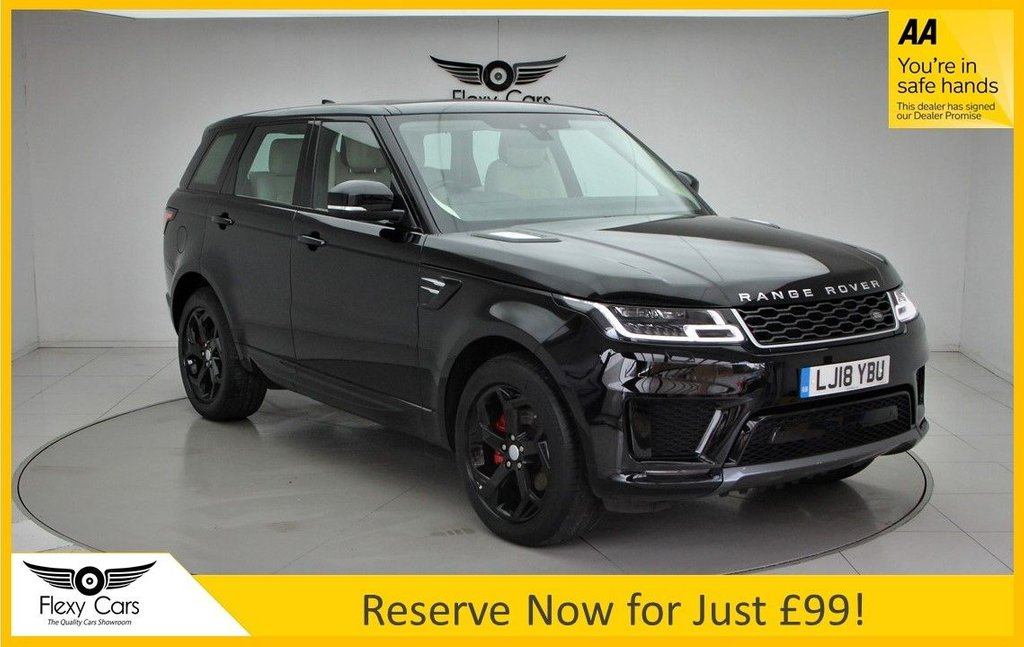 USED 2018 18 LAND ROVER RANGE ROVER SPORT 2.0 SD4 HSE 5d 238 BHP