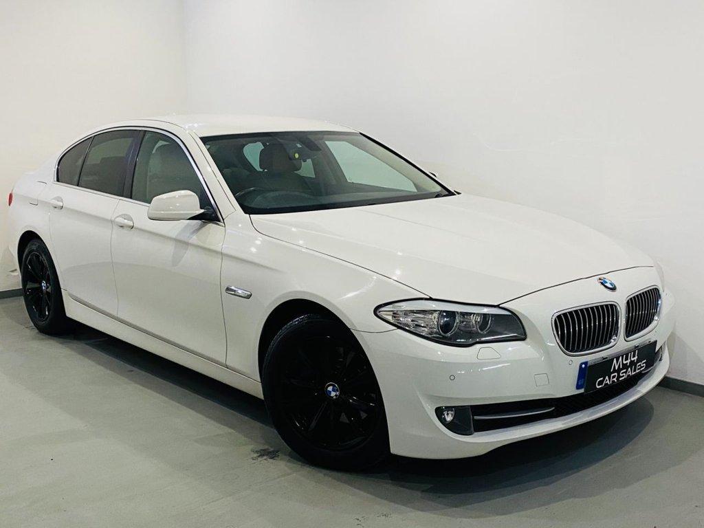 USED 2013 13 BMW 5 SERIES 2.0 520D SE 4d 181 BHP Isofix / Sat Nav / Alloy Wheels / Aux / Cruise Control