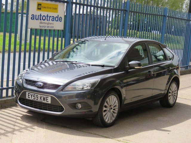USED 2009 59 FORD FOCUS 1.6 TITANIUM TDCI 5d 107 BHP Air conditioning & Sony DAB CD player