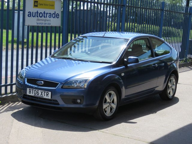 USED 2006 06 FORD FOCUS 1.6 ZETEC CLIMATE 3d 100 BHP 9 Service Stamps & 2 Private owners from new