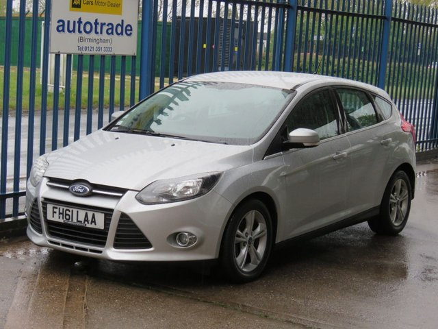 USED 2012 61 FORD FOCUS 1.6 ZETEC TDCI 5d 113 BHP Just £20 Road Tax, Air Con, Quick Clear Windscreen, Service History