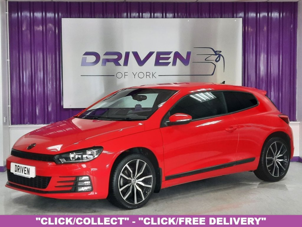 USED 2016 66 VOLKSWAGEN SCIROCCO 1.4 GT TSI BLUEMOTION TECHNOLOGY 2d 123 BHP