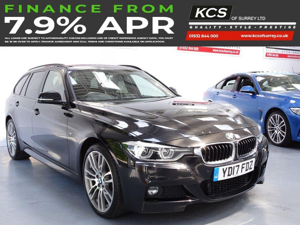 USED 2017 17 BMW 3 SERIES 3.0 330D XDRIVE M SPORT TOURING 5d 255 BHP 4WD-PRO NAV -CAMERA- HTD SEATS
